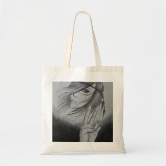 Hippie Chick Budget Tote Bag