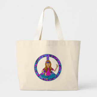 Hippie Chick Jumbo Tote Bag