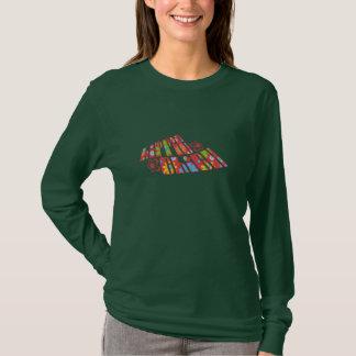Hippie Chick ver. 2 Ladies Long Sleeve T-Shirt