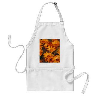 Hippie daisy flower symbolism standard apron