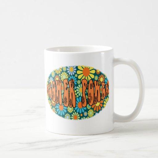 Hippie Days FLOWER POWER Mugs