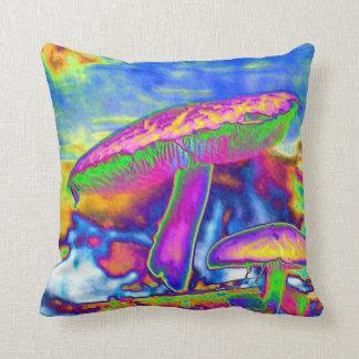 Hippie Dippie Trippy 'Shrooms Pillows