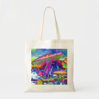 Hippie Dippie Trippy Tote Budget Tote Bag