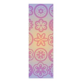 Hippie Flower Design Business Cards