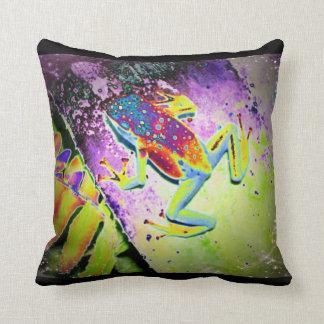 Hippie Frog Cushion