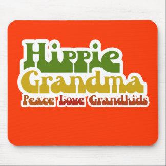 Hippie Grandma Mousepads