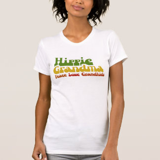 Hippie Grandma Tee Shirt