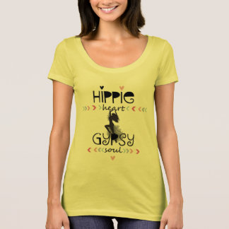 Hippie Heart Gypsy Soul T-Shirt