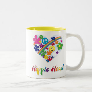 Hippie Heart Mug