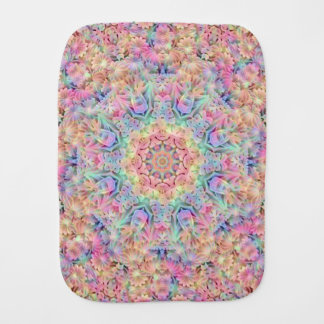 Hippie Kaleidoscope Burp Cloth