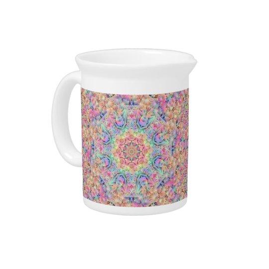 Hippie Kaleidoscope   Porcelain Pitchers