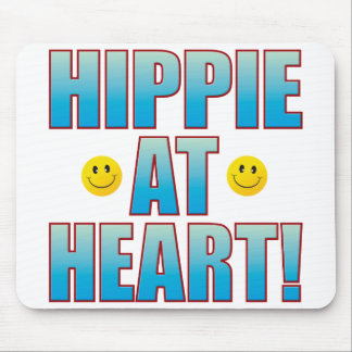 Hippie Life B Mouse Pad