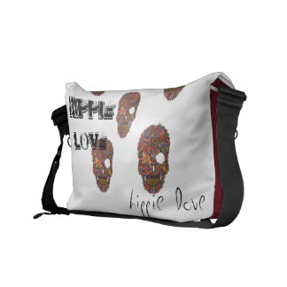 Hippie love bag courier bags