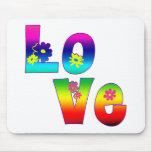 Hippie LOVE Mouse Mats
