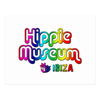 Hippie Museum Ibiza Postcard