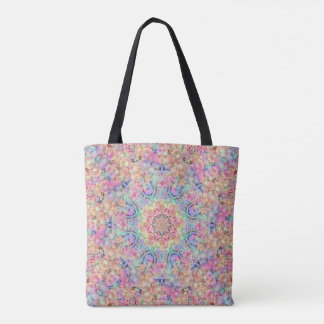 Hippie Pattern   All-Over-Print Tote Bag