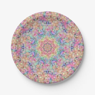 Hippie Pattern Custom Paper Plates