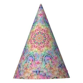 Hippie Pattern Custom Party Hat