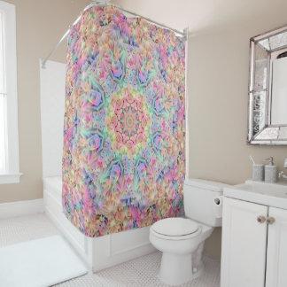 Hippie Pattern     Custom Shower Curtain