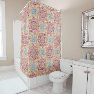 Hippie Pattern   Custom   Vintage  Shower Curtain