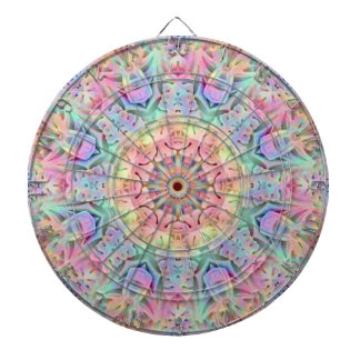 Hippie Pattern  Metal Cage Dartboard