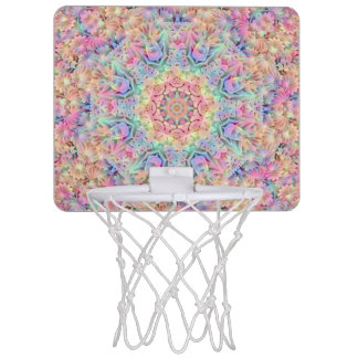 Hippie Pattern  Mini Basketball Goal Mini Basketball Hoop