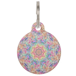 Hippie Pattern  Pet Tags, 2 sizes Pet Tag
