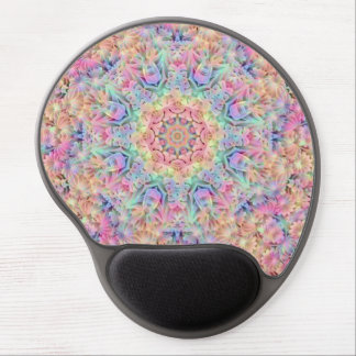 Hippie Pattern Vintage Kaleidoscope   Gel Mousepad Gel Mouse Mat