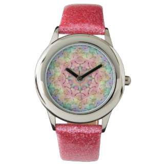 Hippie Pattern   Vintage Kids Watch