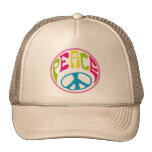Hippie Peace Sign Hats
