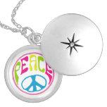 Hippie Peace Sign Necklaces