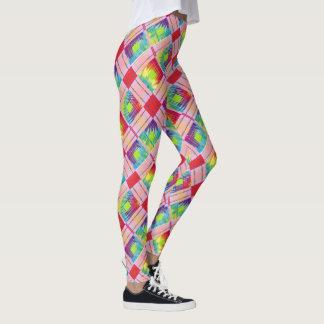 Hippie Plaid Leggings