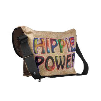 HIPPIE POWER MESSENGER BAGS