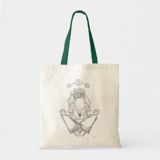 hippie smoking bag