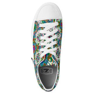 Hippie style printed designer  converse Sneakers