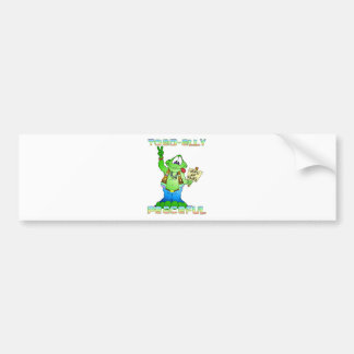 Hippie Toad Car Bumper Sticker
