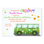 Hippie Van Invitation