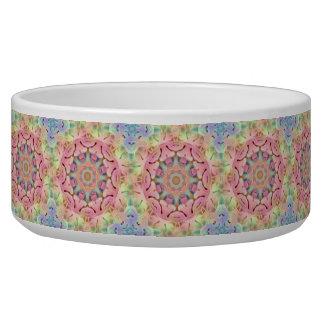 Hippie Vintage   Kaleidoscope    Pet Dish Pet Water Bowl