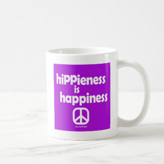 Hippieness Is Happiness Mug