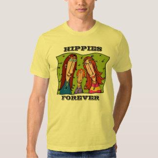 Hippies Forever Art T-shirt For Women