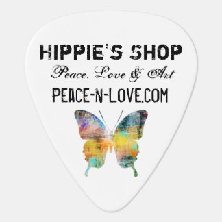 Hippie's Shop Promotional Value Butterfly Guitar Pick