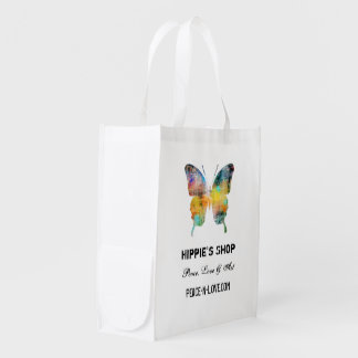 Hippie's Shop Promotional Value Butterfly Market Tote