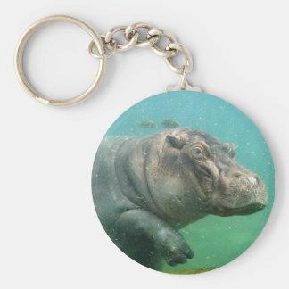 hippo-2 keychains
