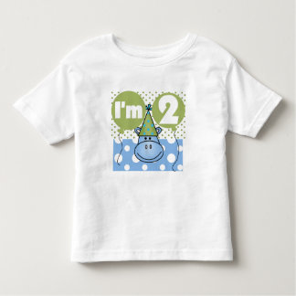 Hippo 2nd Birthday Tshirts and Gifts
