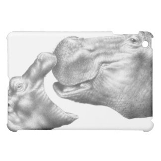 Hippo and Baby iPad Case