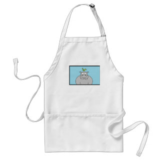 Hippo and Bird Aprons