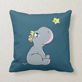 Hippo and Star! Cushion