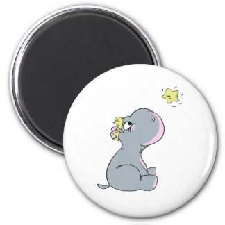 Hippo and Star! Magnet