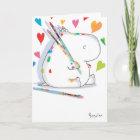 HIPPO ARTIST Valentines by Boynton Christmas Card