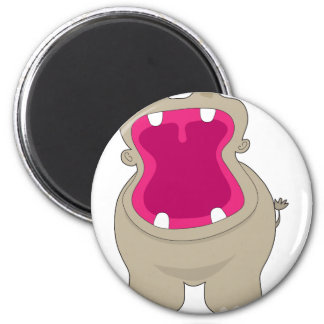 Hippo Big Mouth Magnet